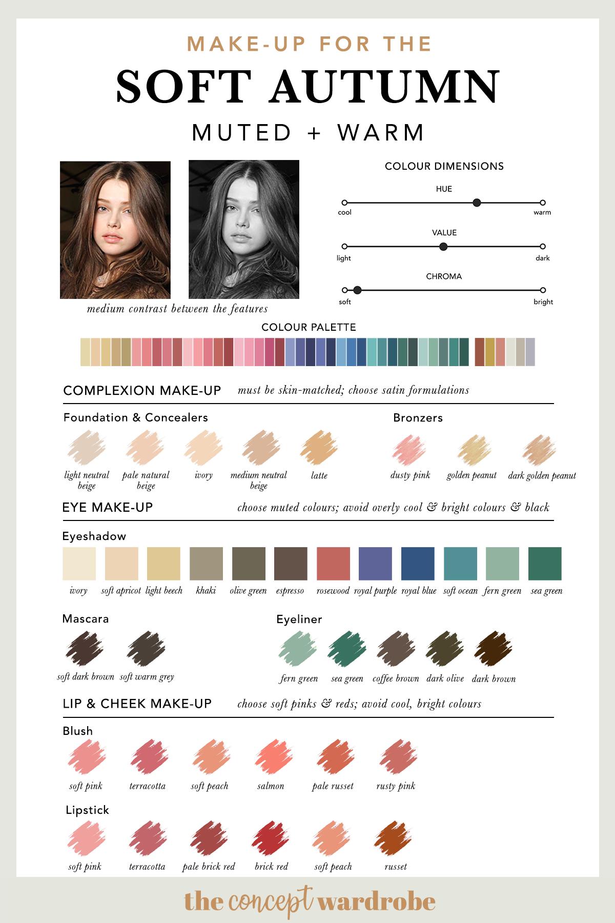 SOFT AUTUMN | Make-up Palette