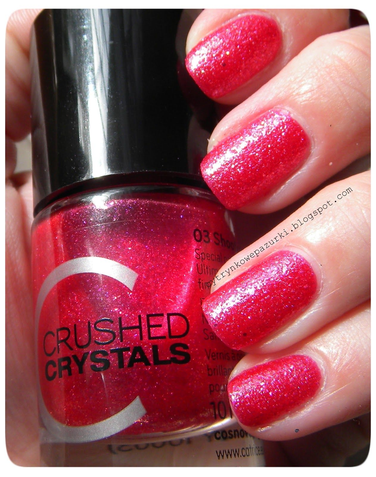 Catrice Crushed Crystals 03 Shooting Star Lakier Do Paznokci