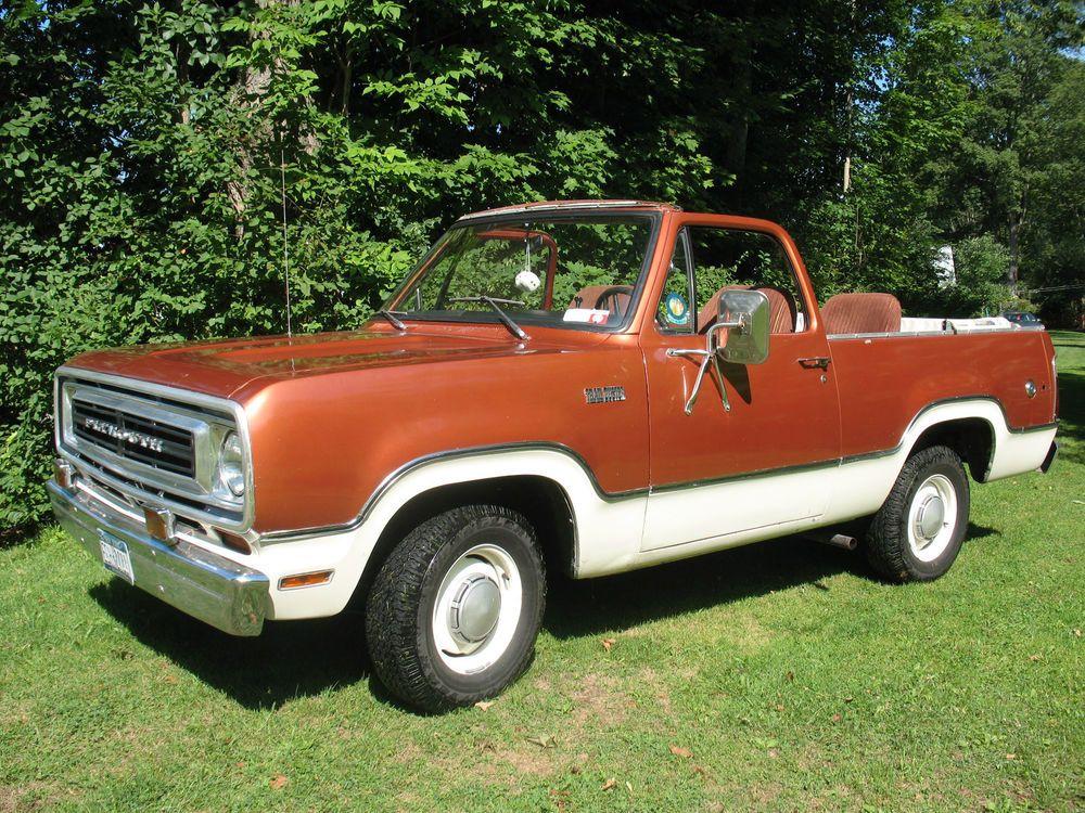 Plymouth Trail Duster 2 Door 3 Speed Standard Chrysler Trucks Plymouth Vintage Pickup Trucks