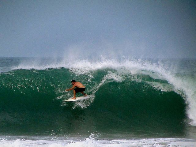 Surfing Costa Rica Playa Avellanas Palo Seco 4 27 2014 Flickr Photo Sharing Courbes