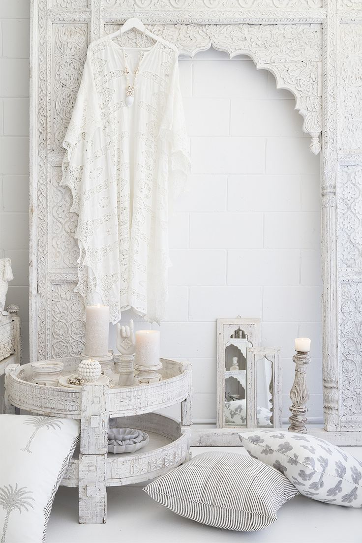 We Are A Lifestyle Store Stocking Indian Furniture, Homewares And Fashion  In An All White Palette. Based In Noosa.