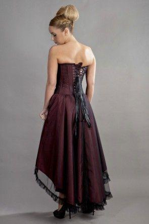 pinbakedpotato mummy on masked ball dress  corset