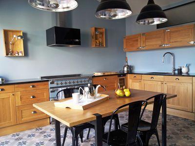 Cuisine avec bar, atelier, ouverte  12 cuisines conçues par un - idee bar cuisine ouverte