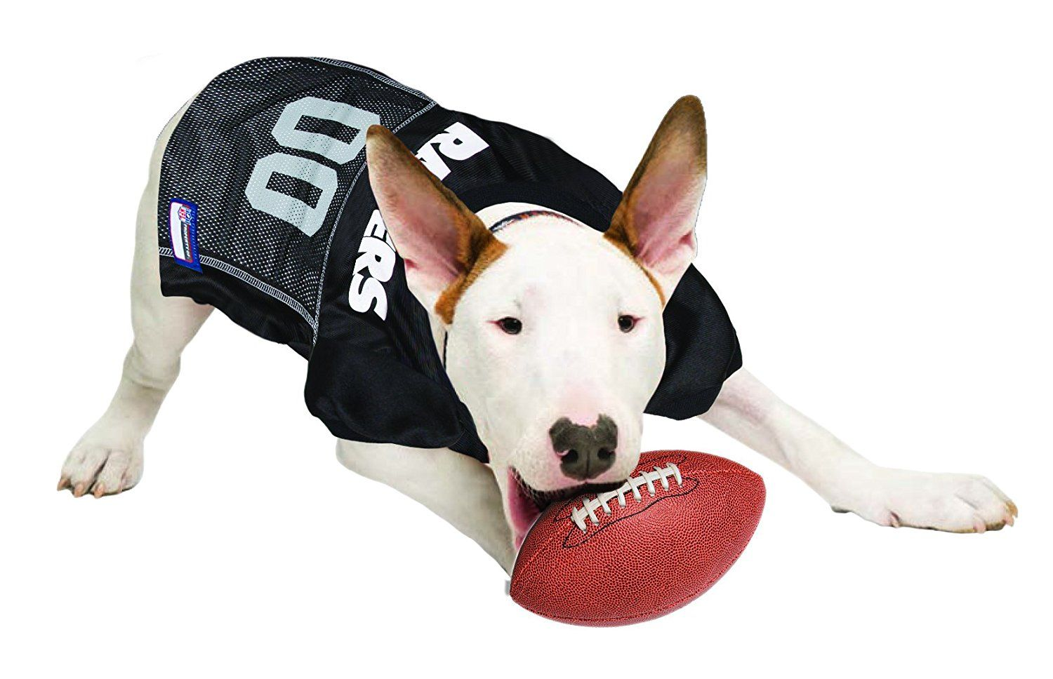 478dc86a236 Official NFL Oakland Raiders Football Jersey for your Dog. They come in all  sizes! So cute! www.dogfootballjersey.com
