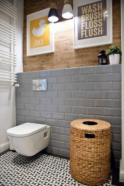 Top 60 besten grauen Badezimmer Ideen – Interior Design Inspiration #remodelingorroomdesign