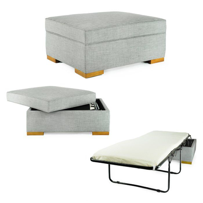 Convertible Ottoman Covers To A Bed Something Someone