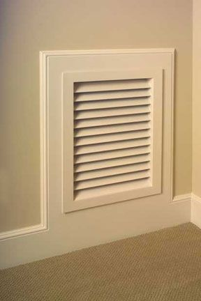 Wall Ceiling Cabinetry Vents American Wood Vents Air Return Wall Vents Air Return Vent Cover