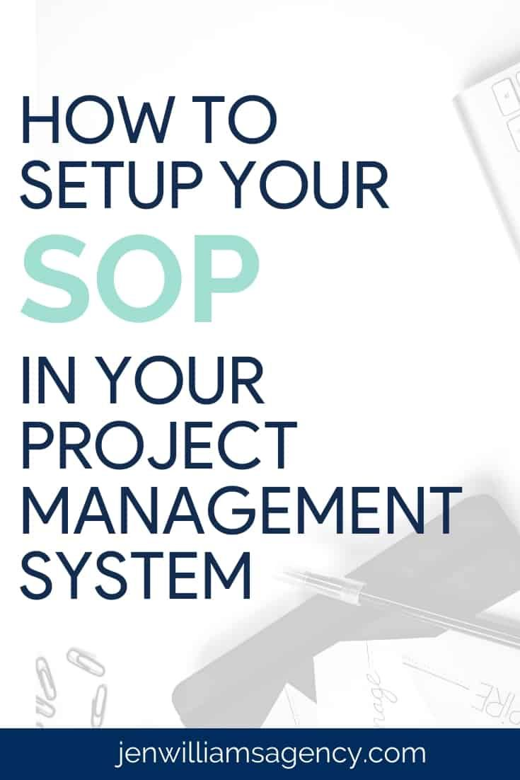 How To Setup Your Sops In A Pm System Project Management