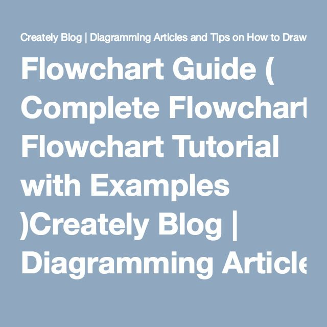 Ultimate Flowchart Guide Complete Flowchart Tutorial With Examples
