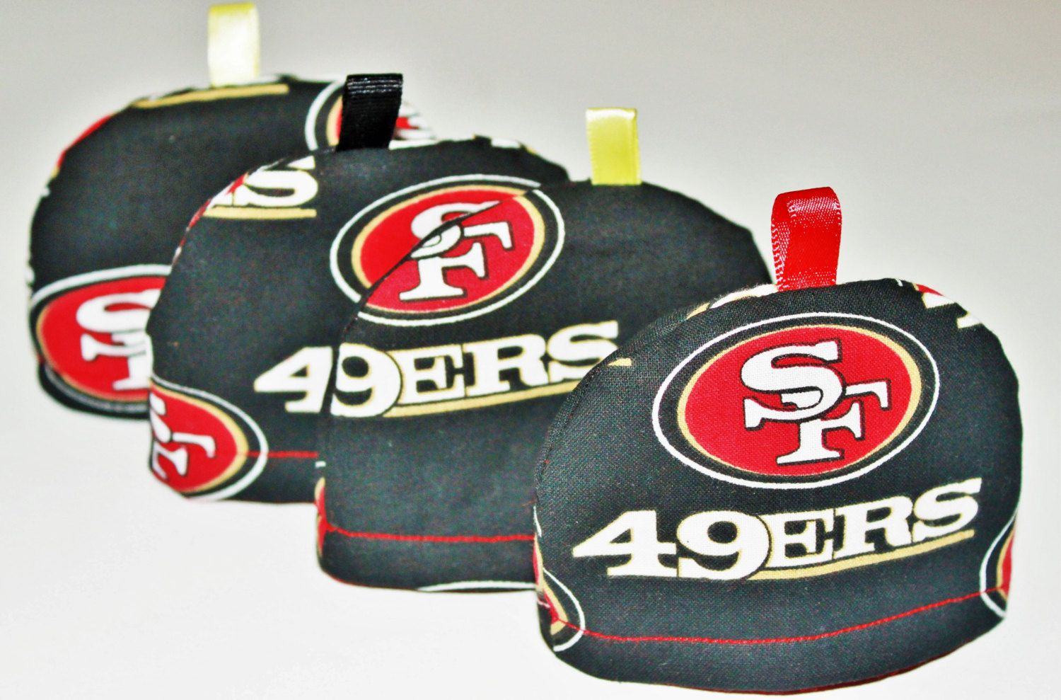 Set of 6  San Francisco 49ers  Baby Boy by RoseyDisposition