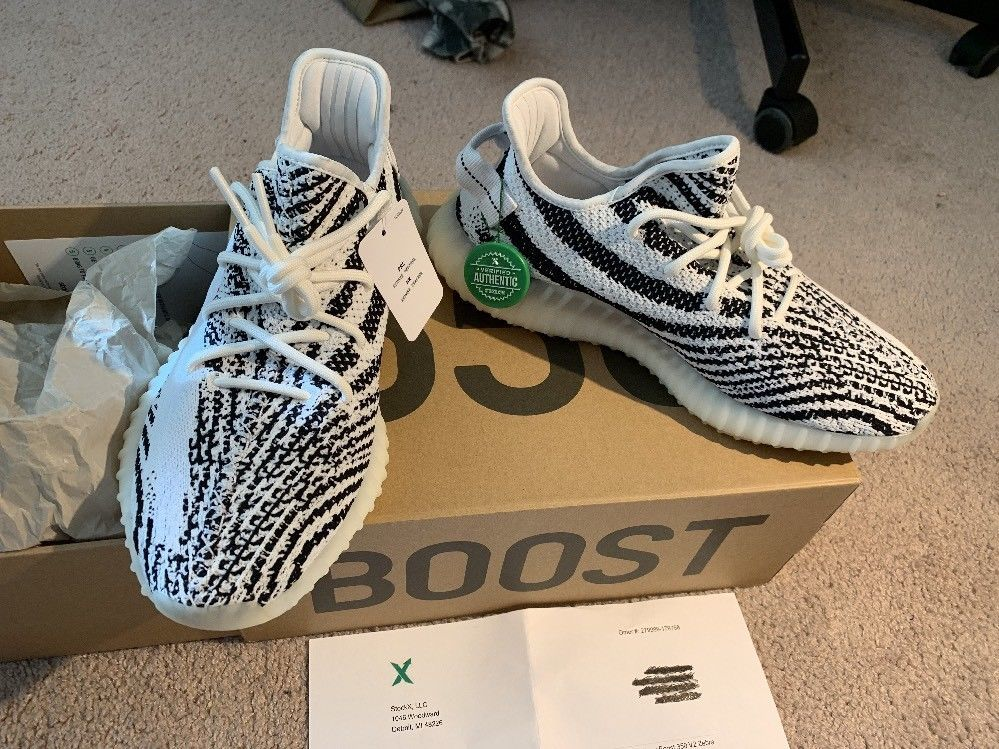 adidas yeezy boost 350 v2 zebra stockx