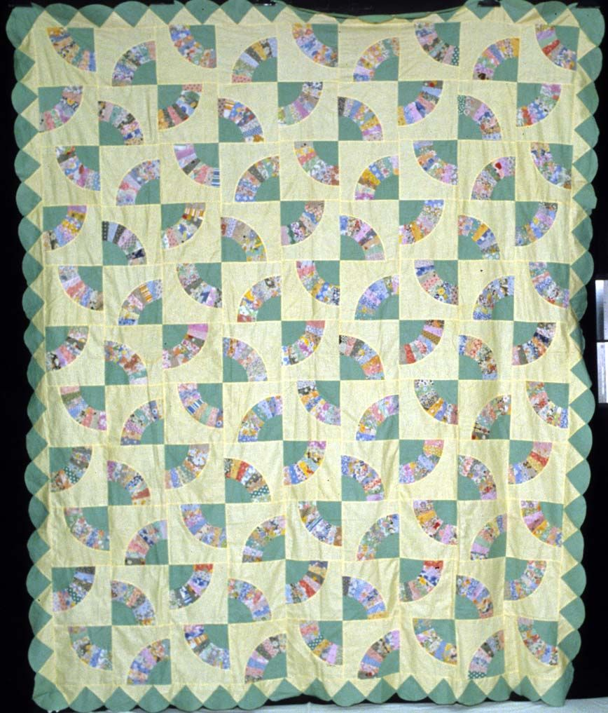 http://www.quiltindex.org/fulldisplay.php?kid=57-90-254 Grandmother's Fan;Fan Quilt; Formosa Fan-The Quilt Index