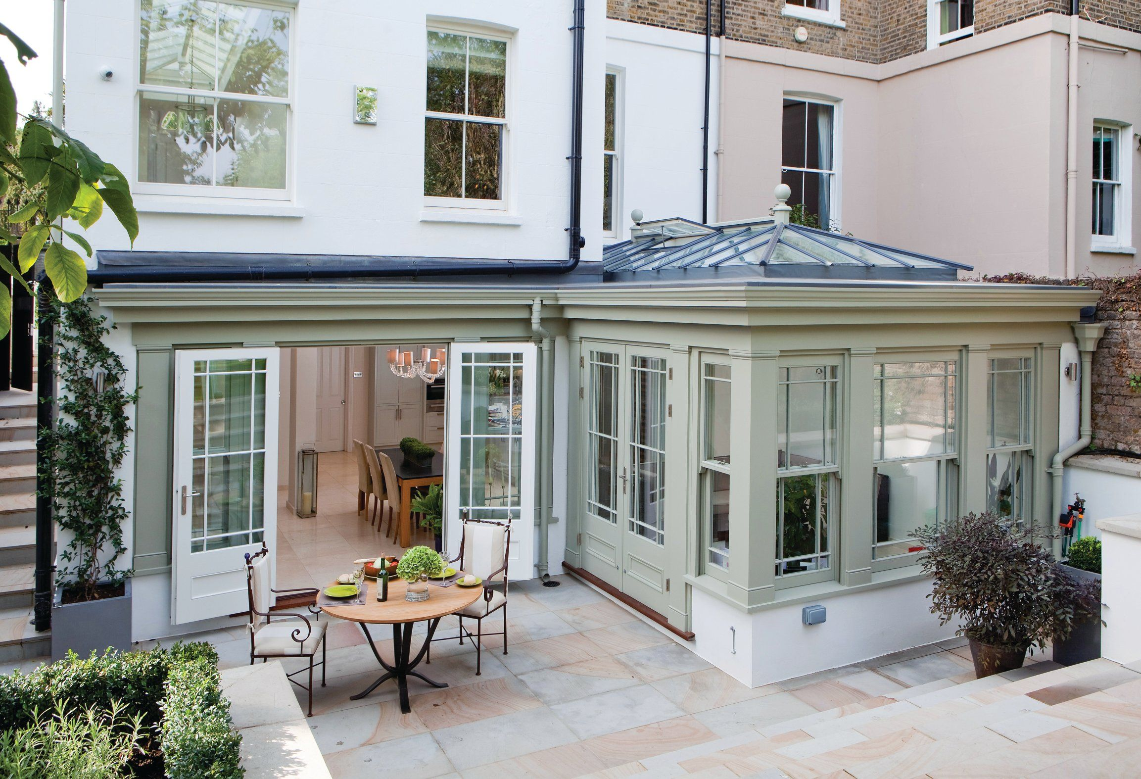 The Fundamental Differences Between Garden Rooms Orangeries And Conservatories Garden Room Extensions Orangery Extension Roof Lantern