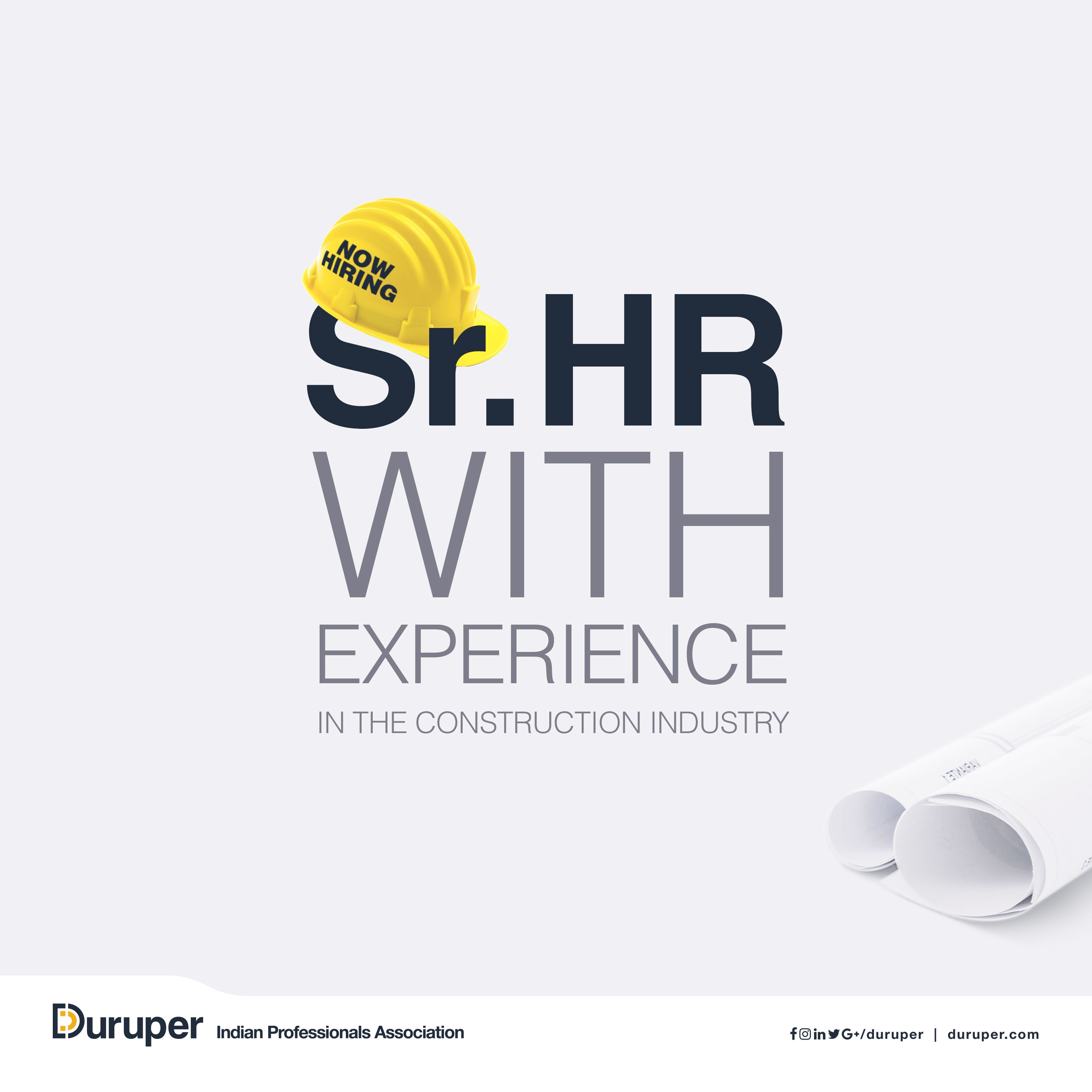 Do you have HR experience in a construction environment