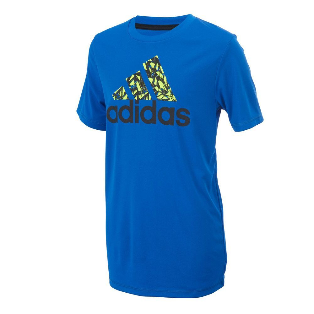 Men's Dark Blue adidas Climalite T Shirt | Life Style Sports