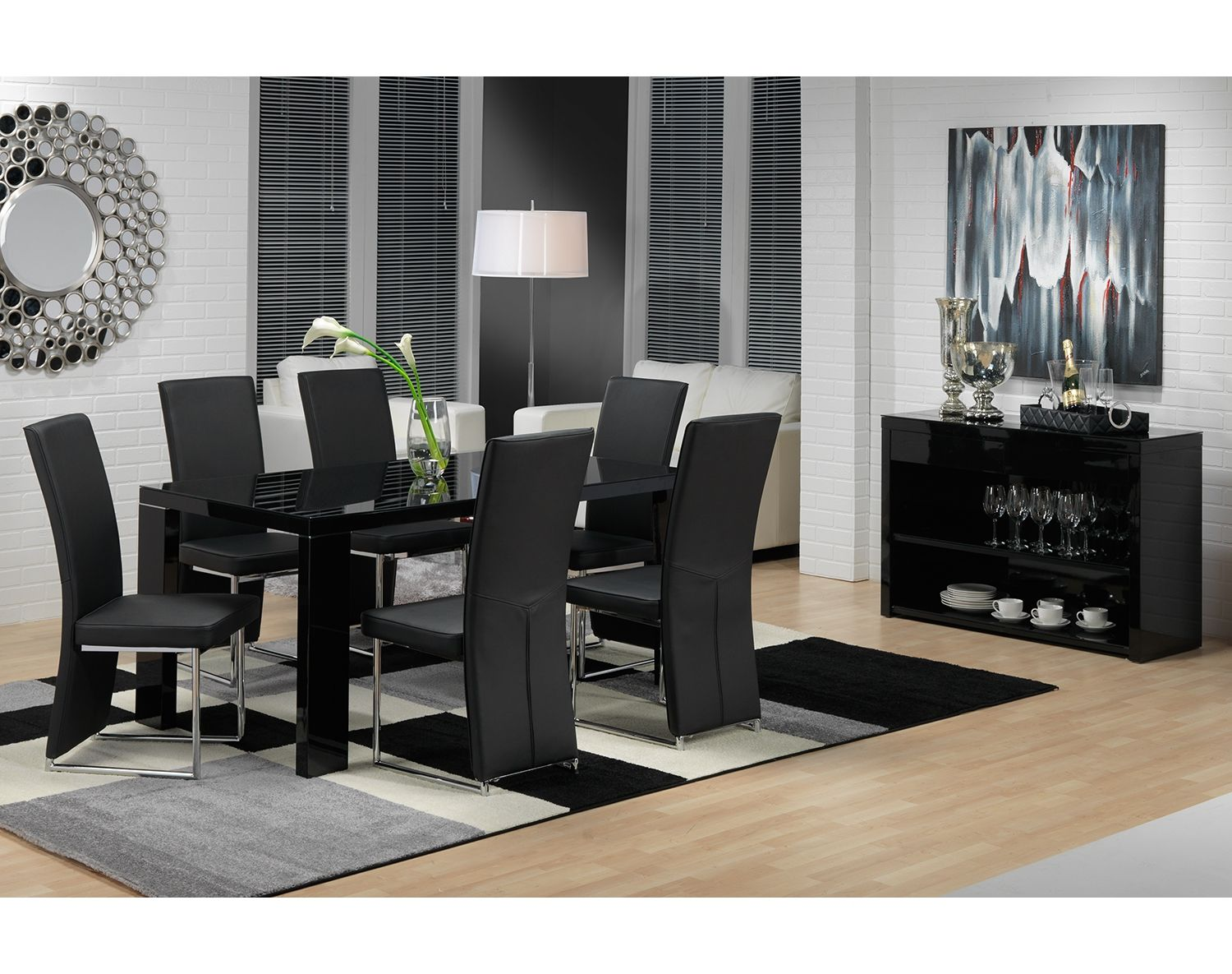 Dining Room Furniture The Bleecker II Collection Bleecker II Table