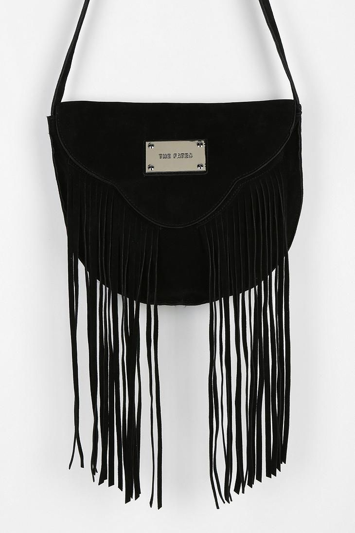 The Fates By Stolen Girlfriends Club Suede Fringe Bag