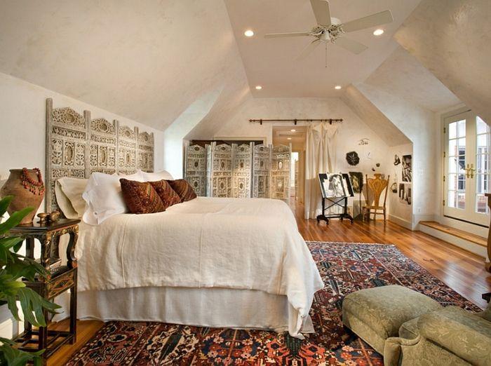 Mediterranes Schlafzimmer ~ Schlafzimmer design weiss dachschrege schlafzimmer ideen