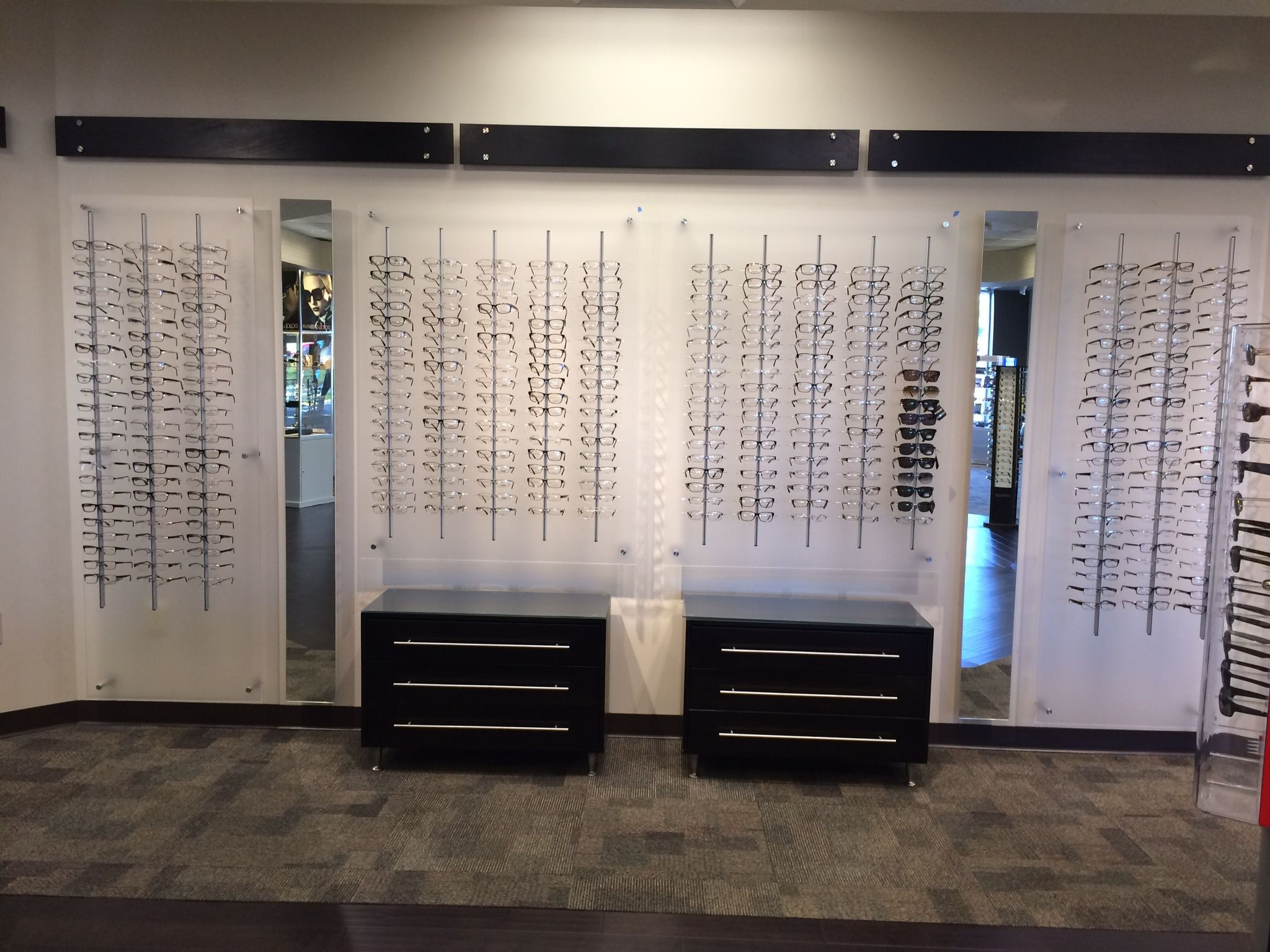 d8b519d1fc1908 Pin by Frame Displays on Optical Shop Design   Design, Contemporary ...