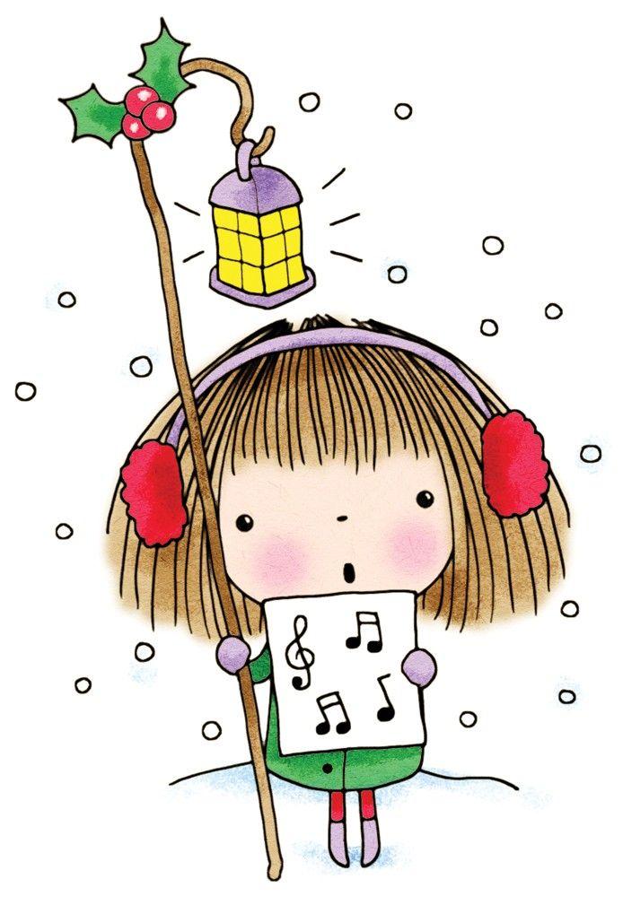 Новогодние картинки для девочек для срисовки, правда