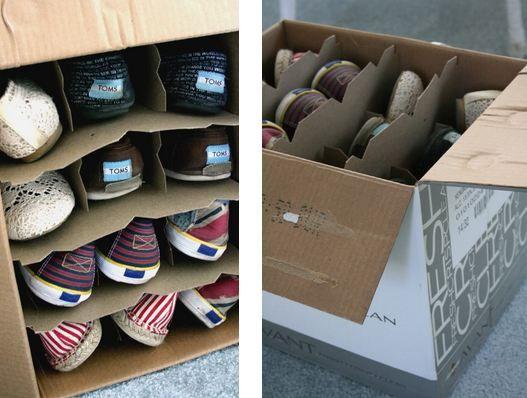 Caisse De Vin Pour Ranger Les Chaussures | Organize | Pinterest