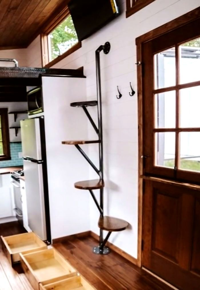 Few Breathtaking Diy Stairs Projects Staircase Staircasedesign Stairs In Most Of The Houses Stairs Are Just Tiny House Stairs Tiny House Loft Diy Stairs