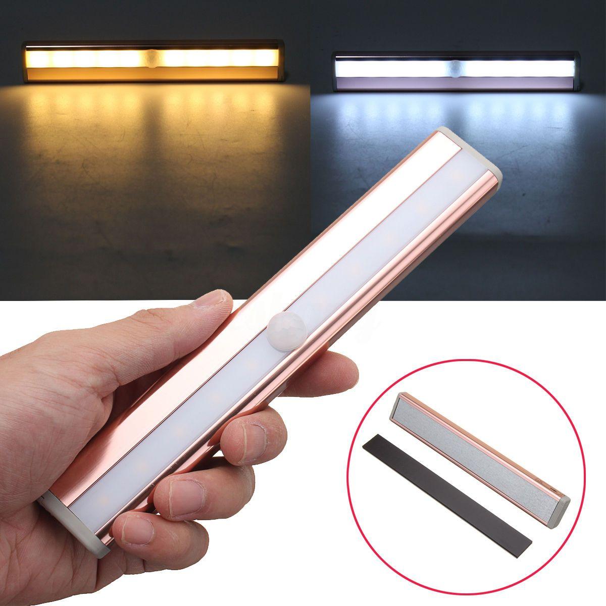 Night lights led pir motion sensor wardrobe night light indoor