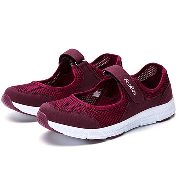 Casual Mesh Light Soft Sole Breathable Outdoor Sport ... Flats ... Sport 0486a4