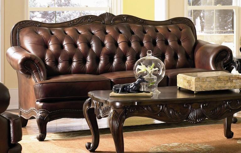 Victoria Leather Sofa Sofa Design Sofa Decor Victorian Sofa