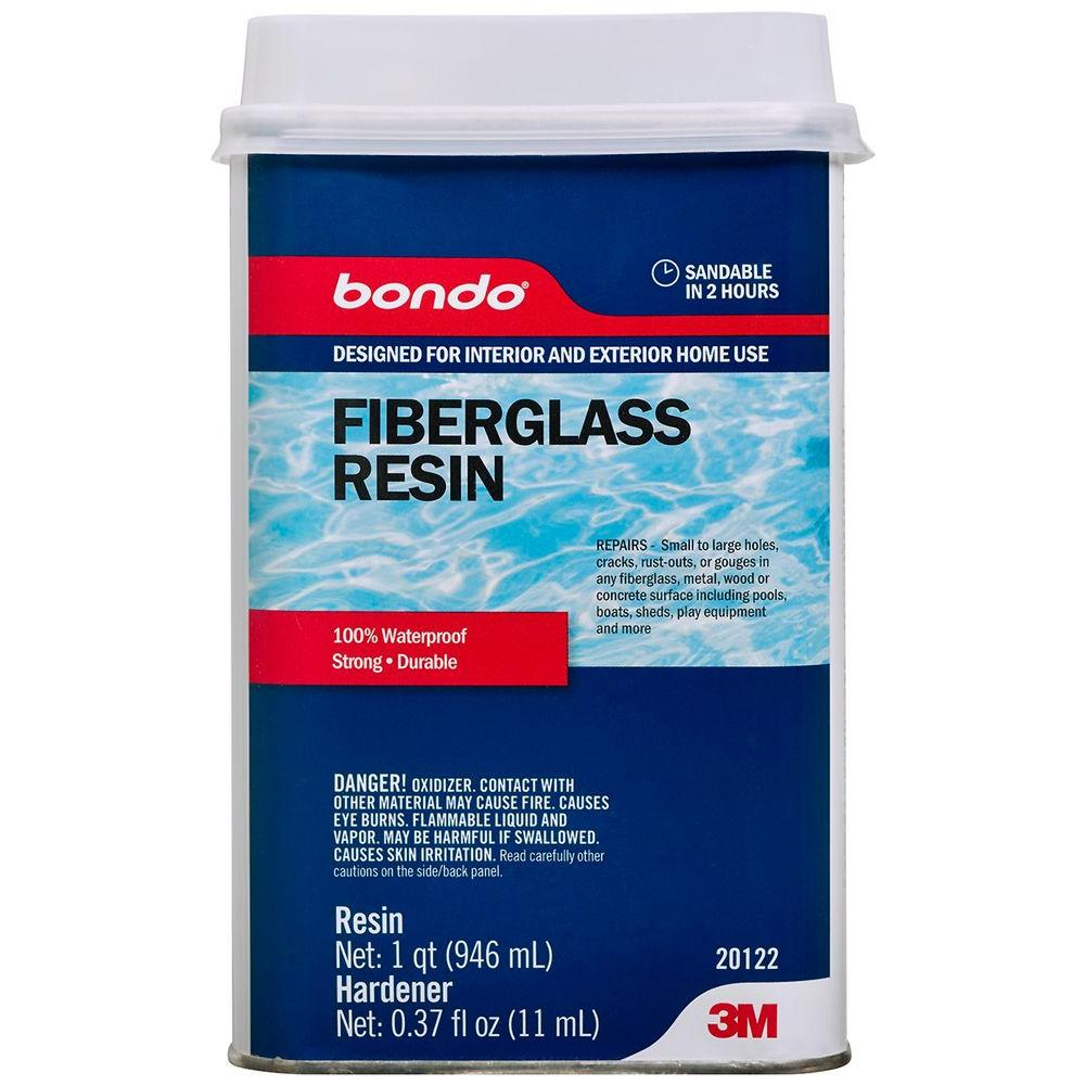 3m Bondo 1 Qt All Purpose Fiberglass Resin 20122 Fiberglass