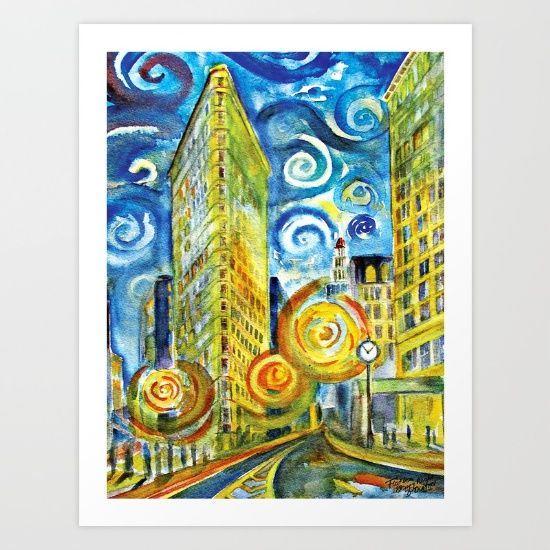 Flatiron - Starry Night by Natural Born Vagabond