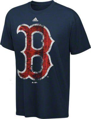 Boston Red Sox Youth adidas Navy Oversized Team Logo T-Shirt ... 6735e711a09