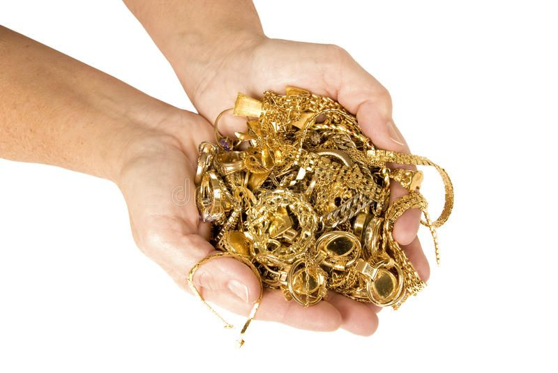how to find scrap gold at garage sales