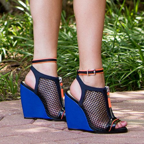 Gwen Stefani Wedge Sandals