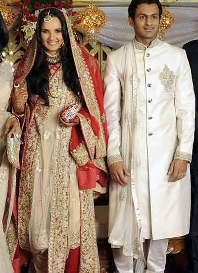 Http Photogallery Indiatimes Com Parties Hyderabad Sania Shoaibs Reception Sanias Pakistani Bridal Couture Asian Wedding Dress Pakistani Asian Wedding Dress