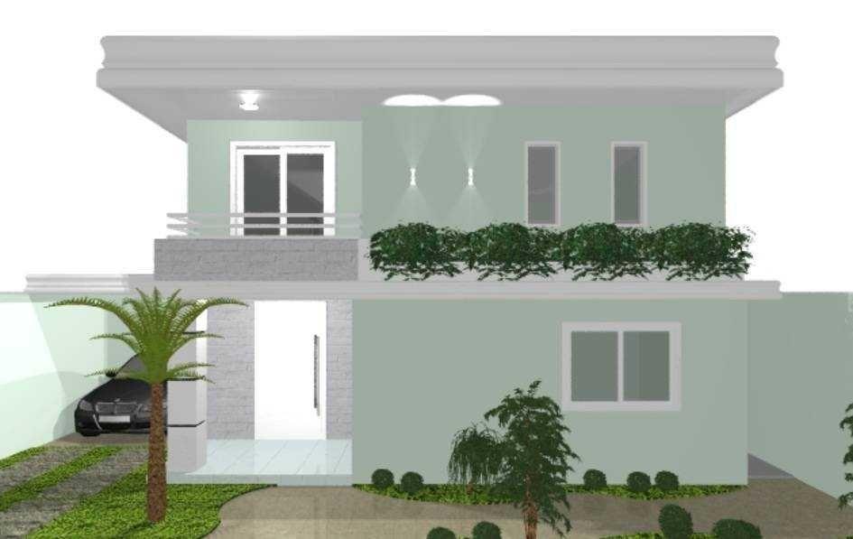 Resultado de imagem para fachada de casas com azulejo Cor Fachada