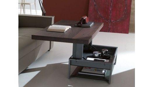 Cette table basse design et pratique de la marque italienne Ozzio ...