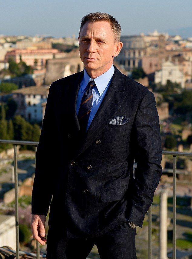 Etwas Neues genug Spectre 24 James Bond Double Breasted Suit | James Bond Suit in &LY_66