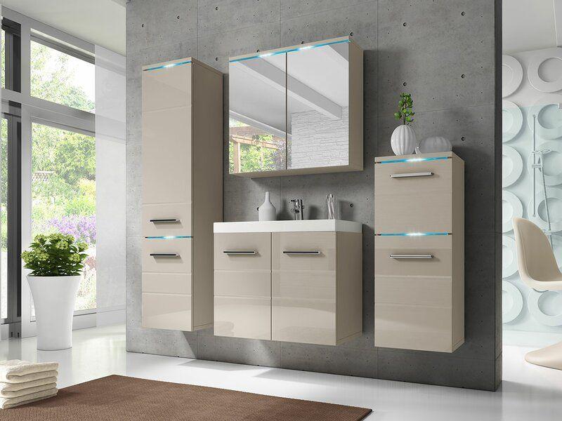 Belfry Bathroom 4 Tlg Badmobel Set Kendall Wayfair De Kleine