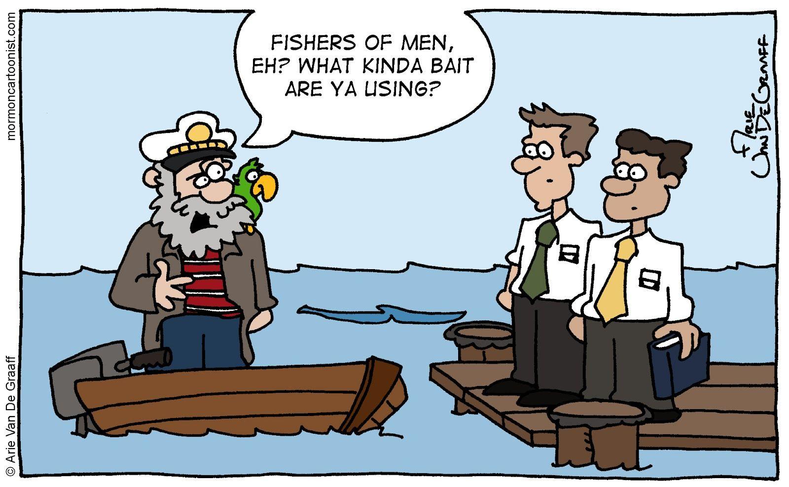 Fishers of men church memes lds memes mormon humor