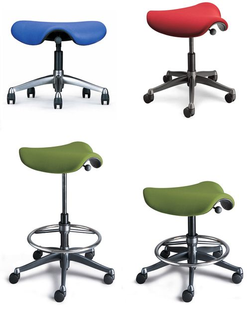 Humanscale Freedom Saddle Chair Saddle Chair Chair Compact Chair
