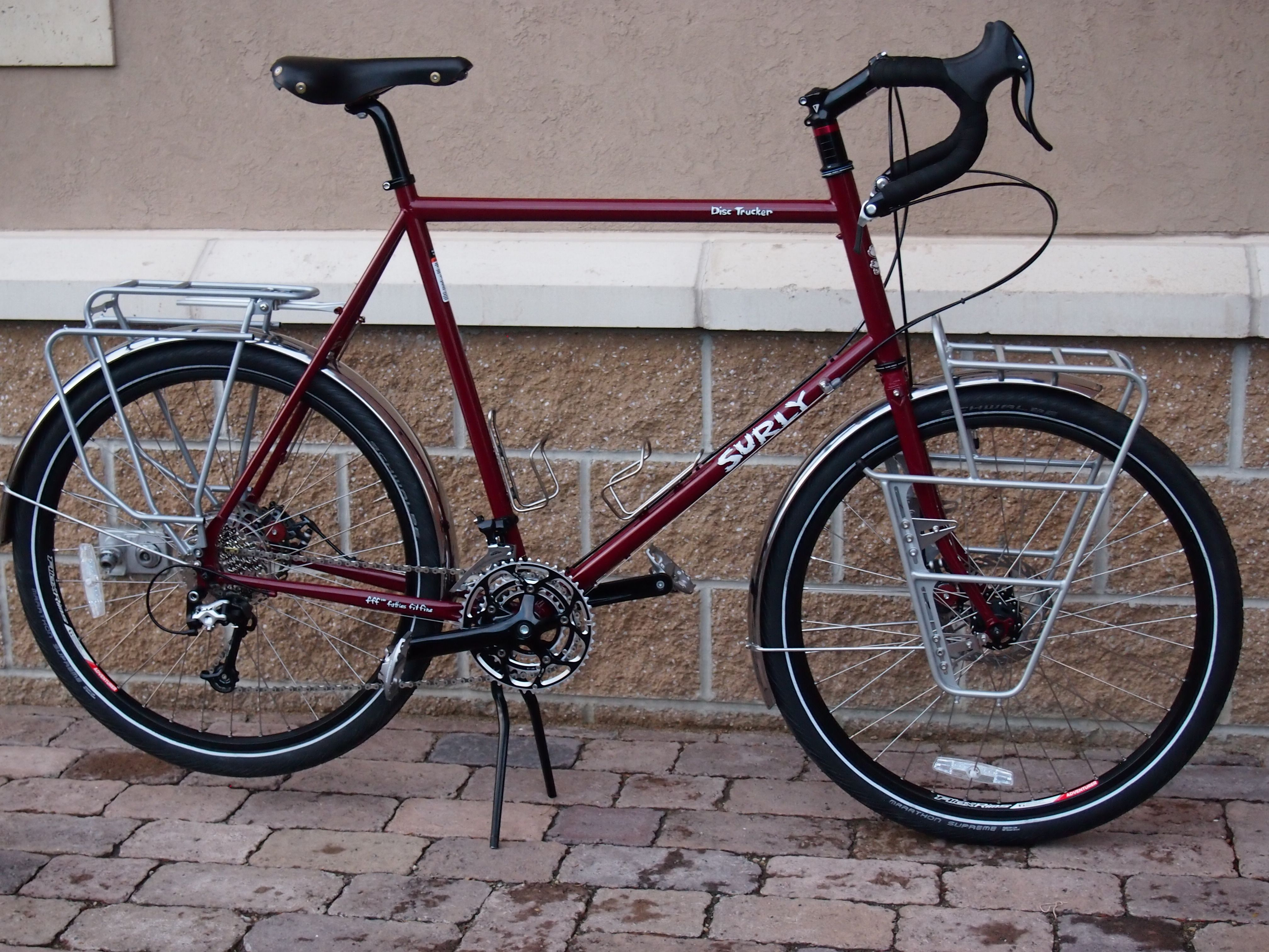 For The Tall Traveler Surly Disc Trucker W 26 Wheels Surly Bike Touring Bike Surly Bikes