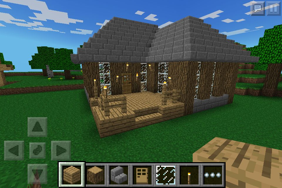 minecraft how to build a cool house pe
