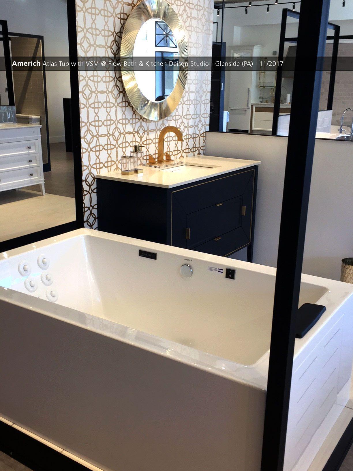 Americh Atlas Tub With Vsm Flow Bath Kitchen Deisgn Studio