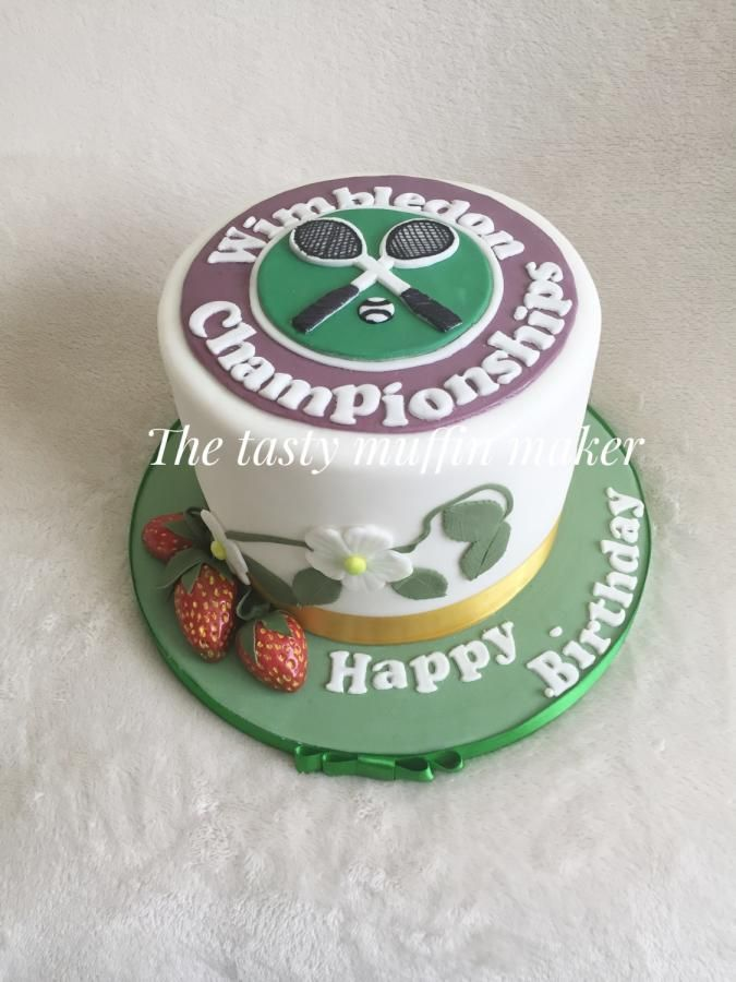 Wimbledon Cake By Andrea Cakes Cake Decorating Daily