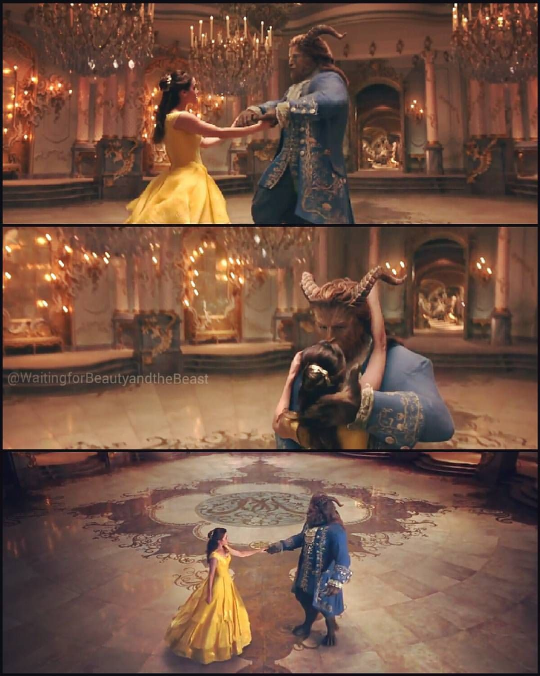 Behind The Scenes From Beauty And The Beast Official Music Video