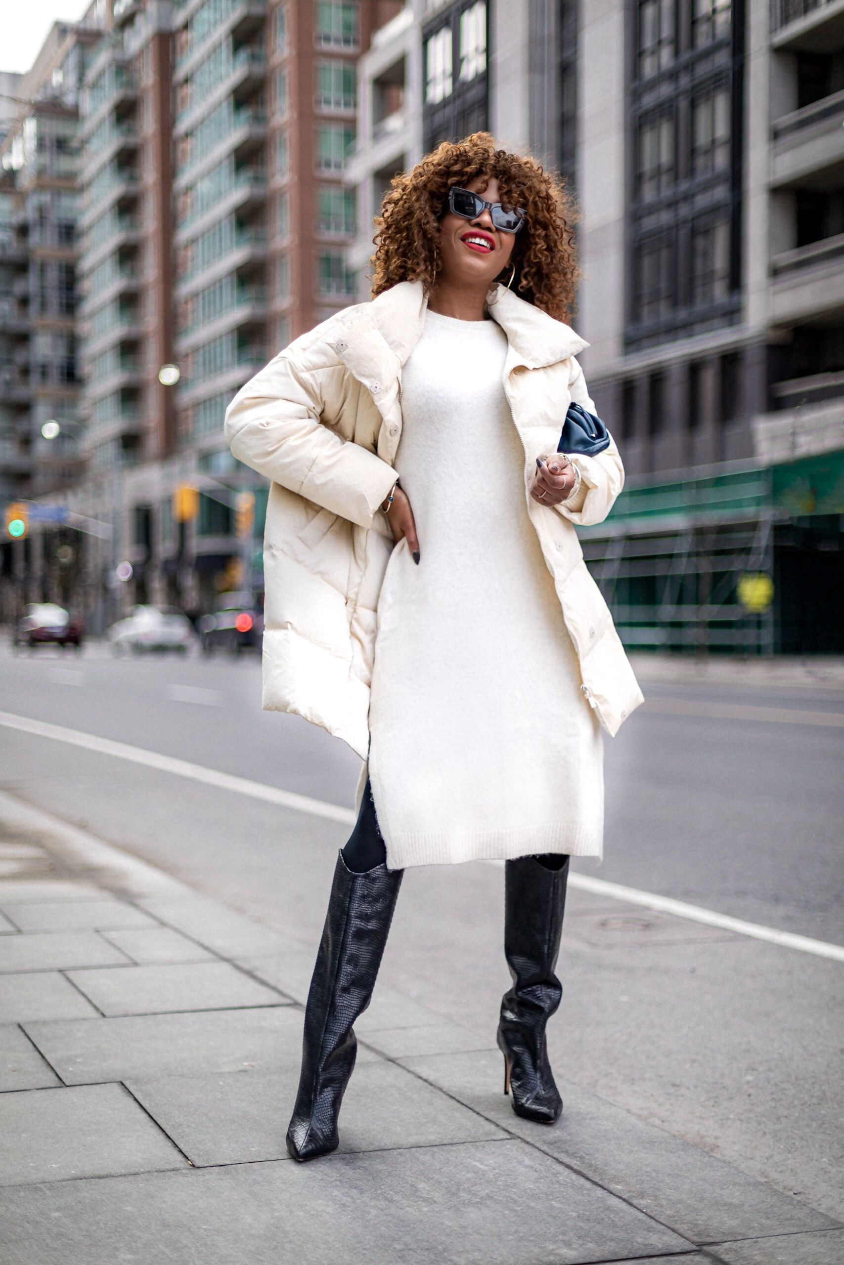 How to look chic in a puffer coat in 2020 Fashion