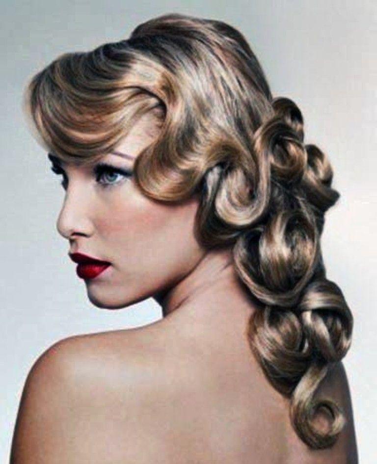 long 20s style gatsby hair