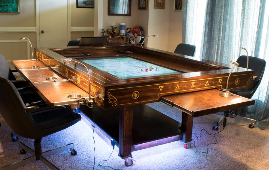 Diyer Builds Cool Steampunk Gaming Table Gaming Table Diy