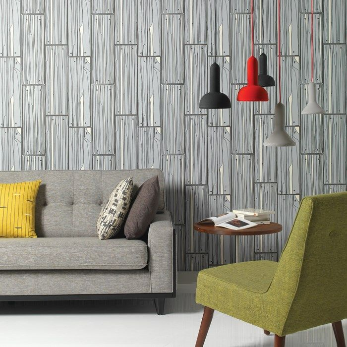 Planking Wallpaper by Hemingway - Wood Effect Wall Coverings by ...